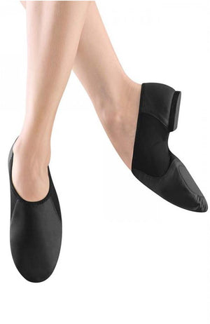 Bloch S0495G Black Leather Neo Jazz Shoe