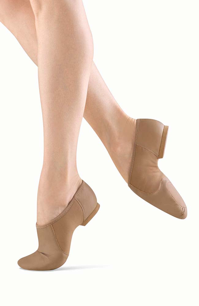 Bloch S0495G Tan Leather Neo Jazz Shoe