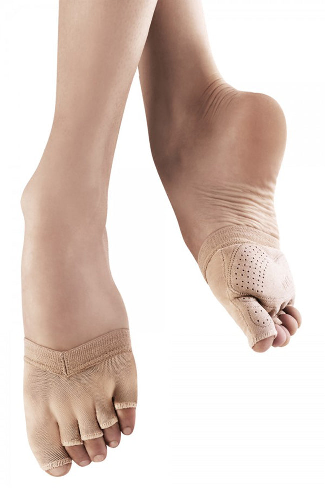 Bloch S0662L Tan Soleil Foot Glove