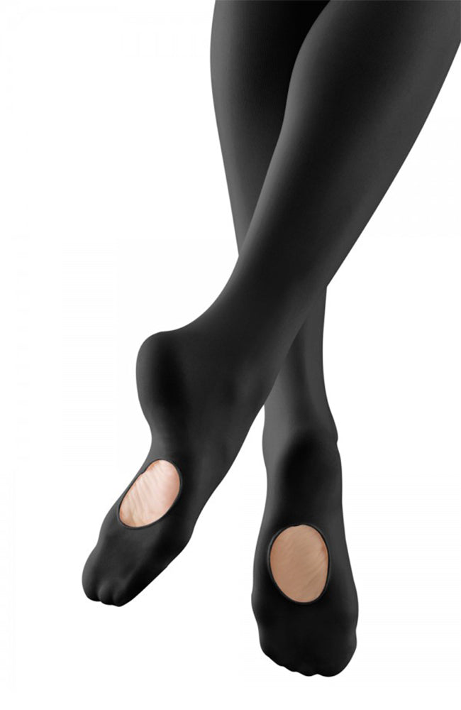 Bloch T0850L Adult Black Convertible Tights