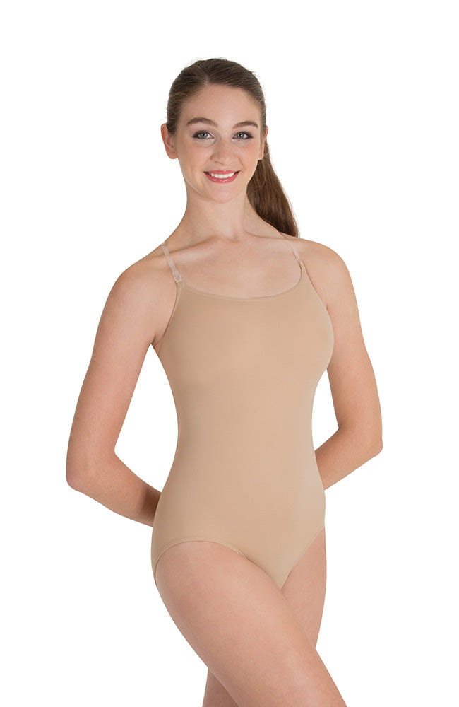 Body Wrappers 0277 Child Nude Clear Strap Body Liner