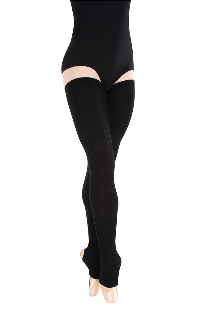 "Body Wrappers 92 48"" Thigh High Legwarmers"