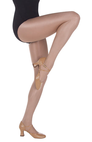 Body Wrappers A55 Adult Shimmer Footed Tights