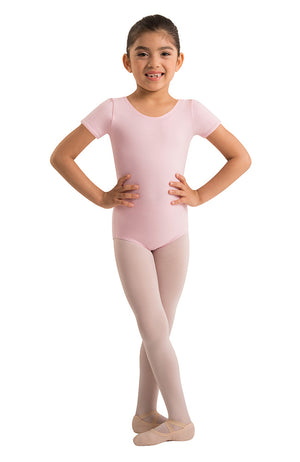 Body Wrappers OGC120 Organic Cotton Pink Short Sleeve Bodysuit