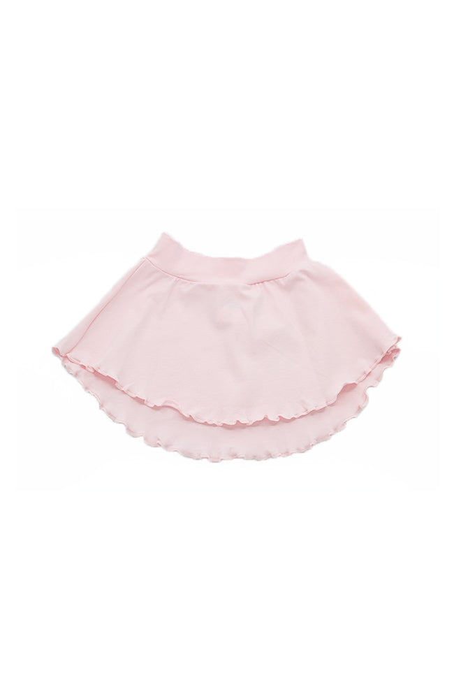 Body Wrappers OGC140 Pink Organic Cotton Pull-On Skirt - Child