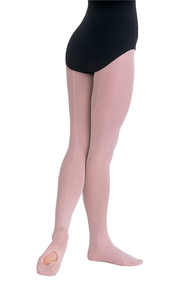 Body Wrappers A45 Adult Back Seam Convertible Tights