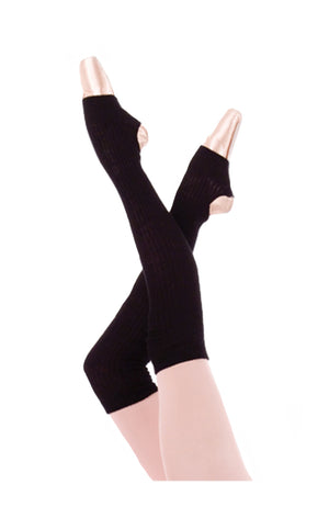 "Body Wrappers 194 27"" Thigh Warmer Black"