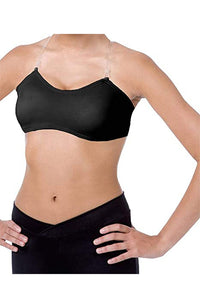 Body Wrappers 274 Adult Padded Bandeau Bra Black