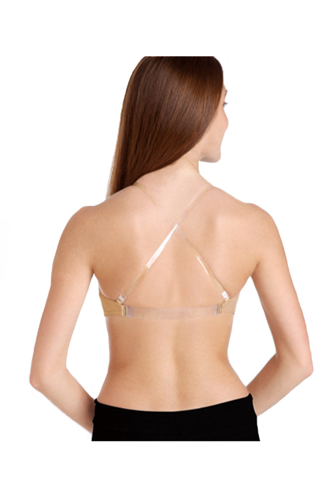 Body Wrappers 274 Adult Padded Bandeau Bra Nude Back