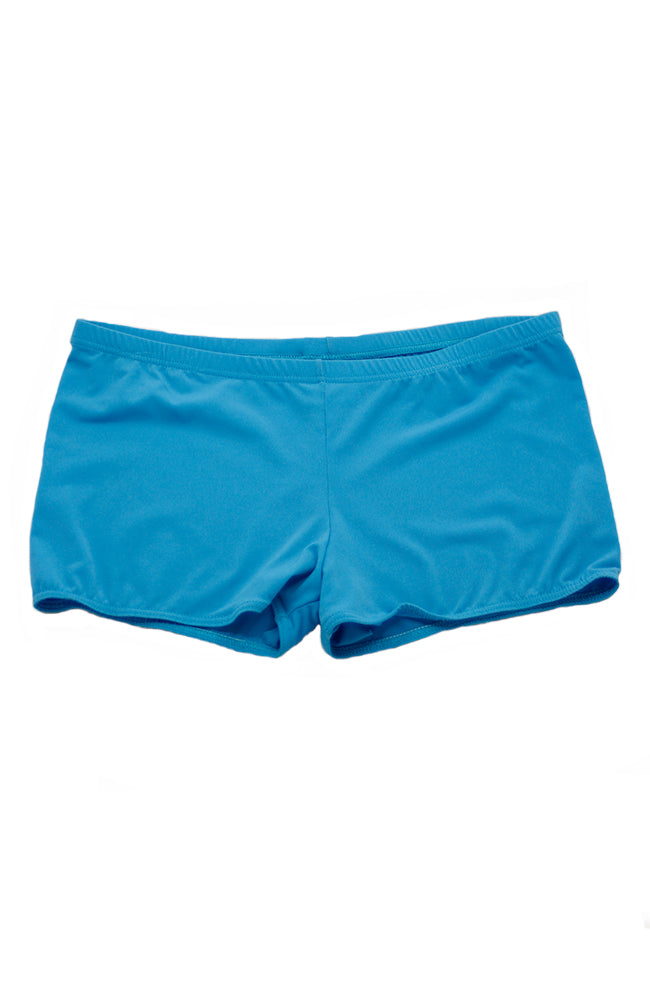 Body Wrappers 607 TRQ Adult Hot Shorts