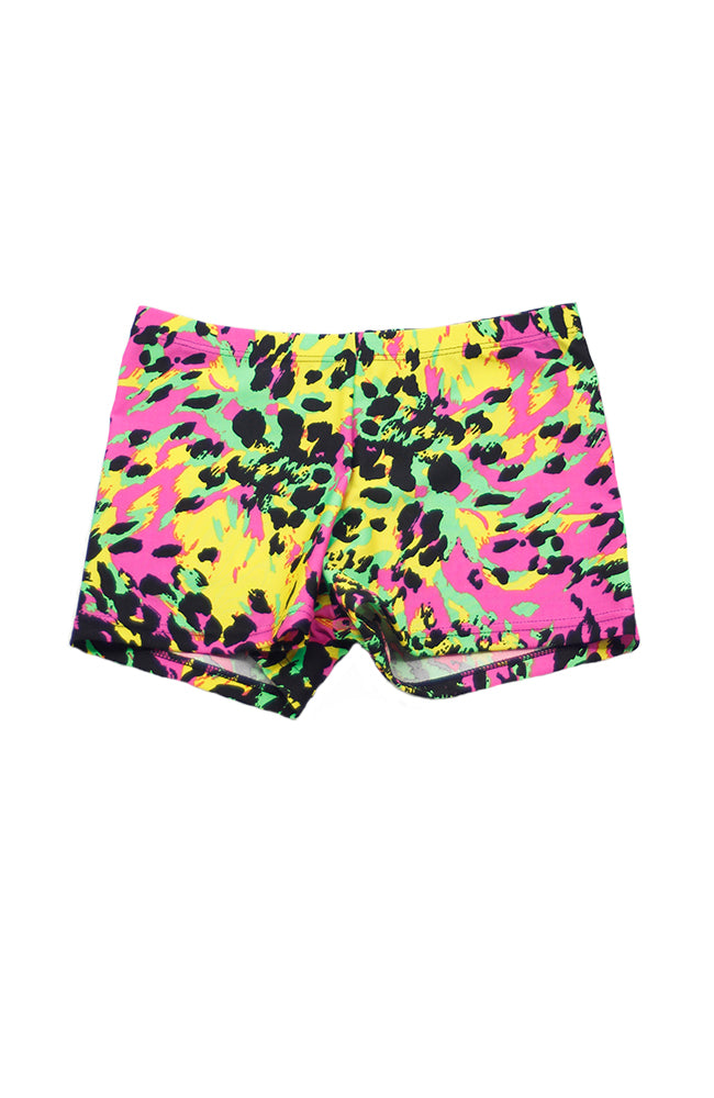 Body Wrappers 700 ANB Animal Bright Shorts