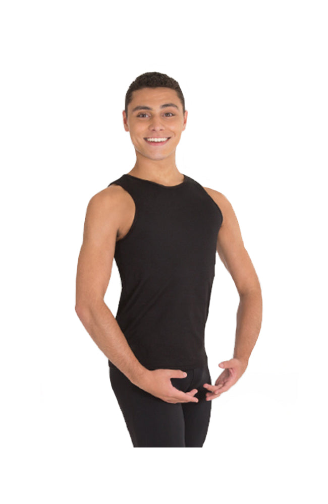 Body Wrappers M407 Mens Tank Pullover Black