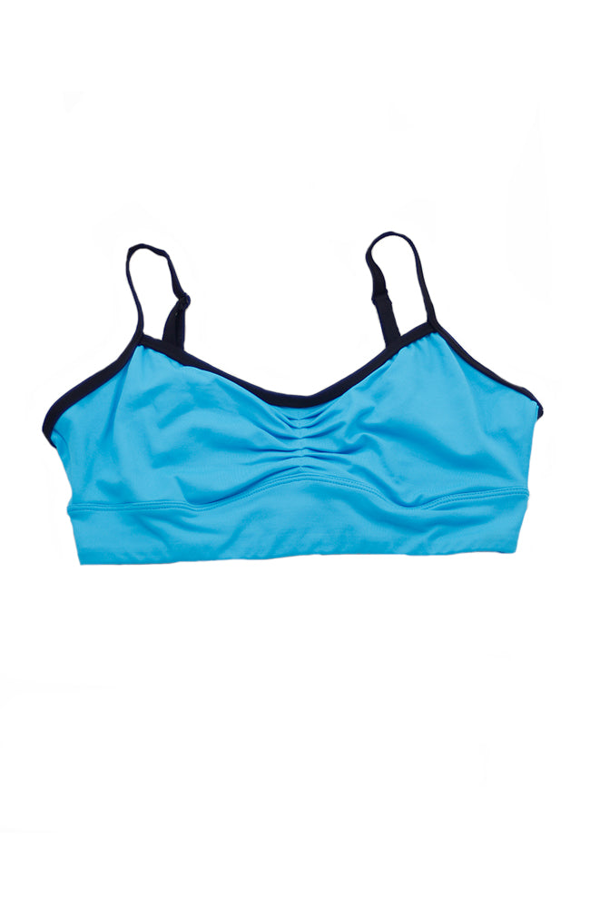 Body Wrappers BWP259 Camisole Bra Top Turquoise