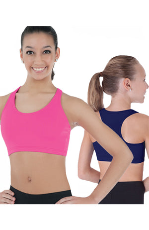 Custom Colour Adult Racerback Crop