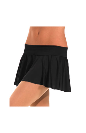 Body Wrappers MT0117 MicroTECH Pull On Skirt Black