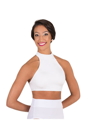 Body Wrappers NL1019 Child Moch Neck Bra Top