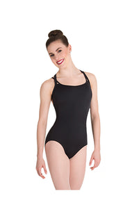 Body Wrappers Double Strap Back Bodysuit
