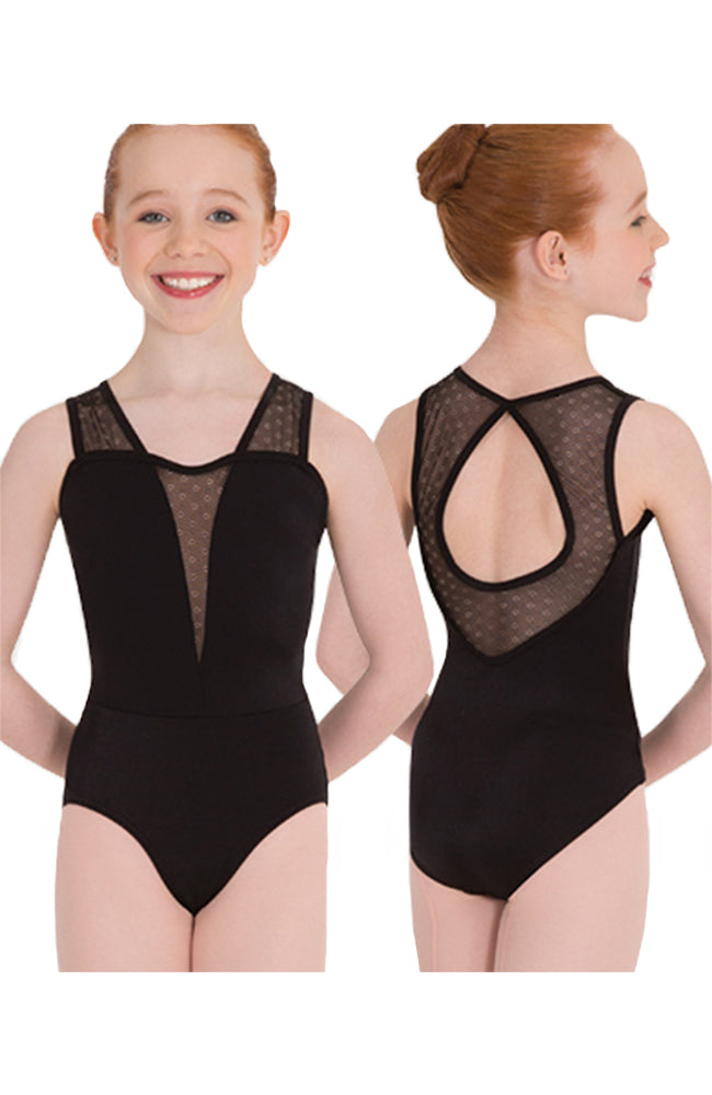 Body Wrappers P1121 Keyhole Back Bodysuit Black