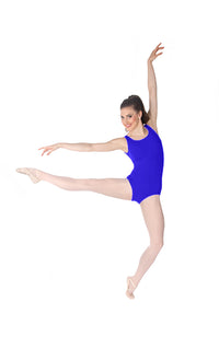 Body Wrappers P345 Boatneck Leotard Royal