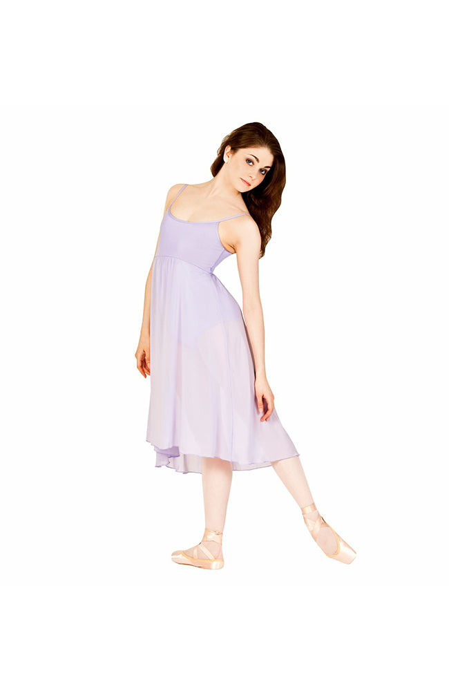 Body Wrappers 7799 Adult Empire Camisole Dress Lilac