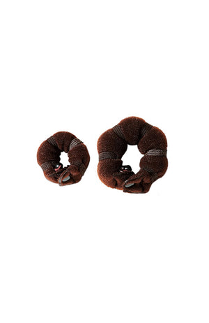 Bun Builder Accessory Dark Brown