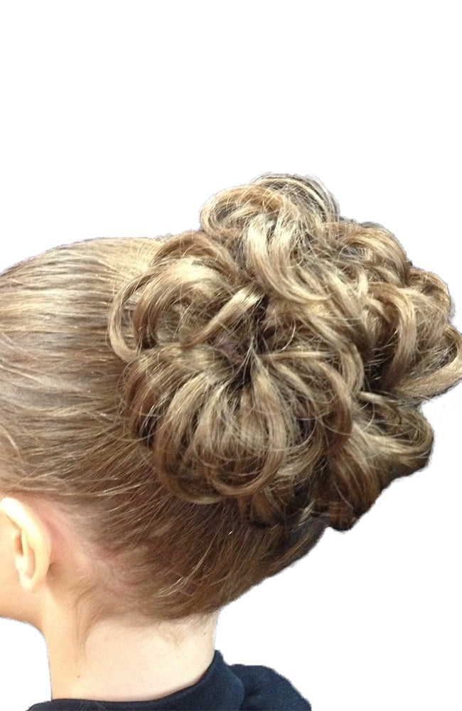Bun of Curls Fake Hair Piece