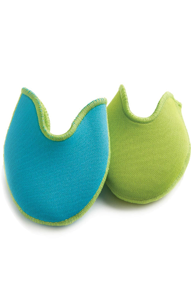Bunheads BH1095AL Large Reversible Aqua/Lime Ouch Pouch Jr