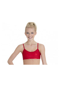 Capezio 10020BC Adjustable Bra Top Red