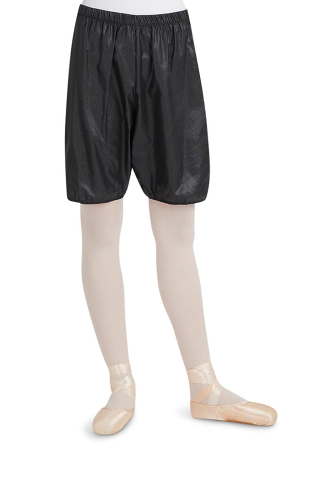Capezio 10110 Adult Rip Stop Garbage Bag Shorts