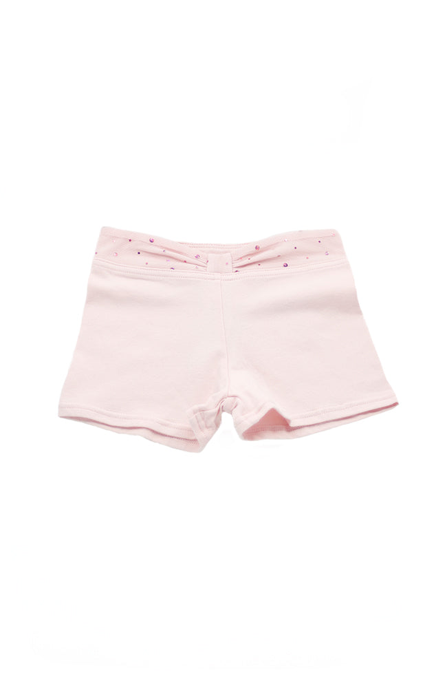 Capezio 11531C Sequin Dot Shorts Pink