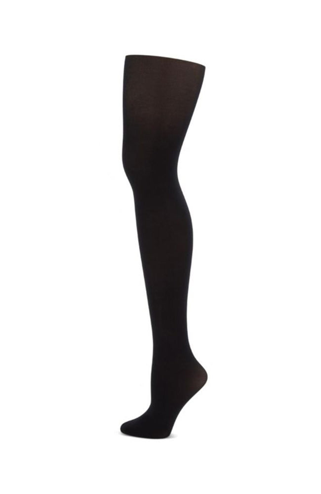 Capezio 1825 Studio Basic Footed Tights Black