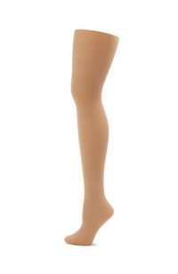 Capezio 1825X Studio Basics Footed Tights Caramel