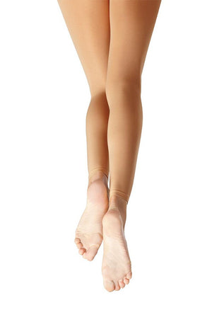 Capezio 1917X Toddler Ultra Soft Footless Tights