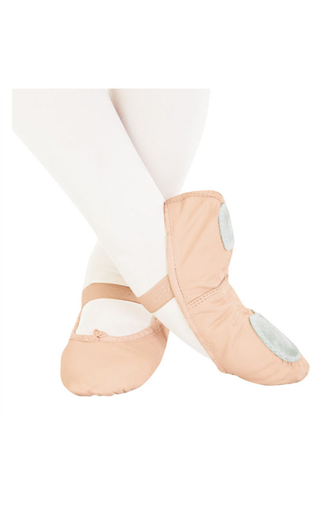 Capezio 205S Adult Leather Split Sole Ballet Slippers