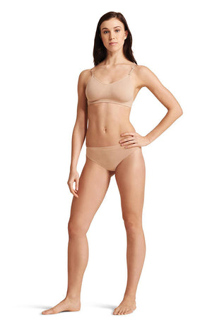 Capezio 3678 Adult Nude Low Rise Thong