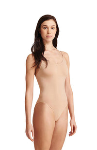 Capezio 3680 Nude Bodyliner with Adjustable Straps