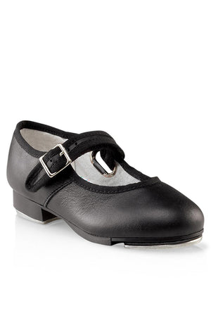 Capezio 3800 Adult Black Leather Mary Jane Tap Shoes