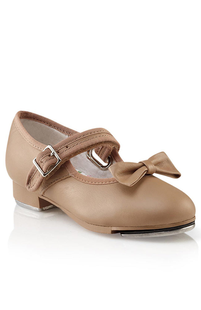 Capezio 3800C Child Leather Caramel Mary Jane Tap Shoes