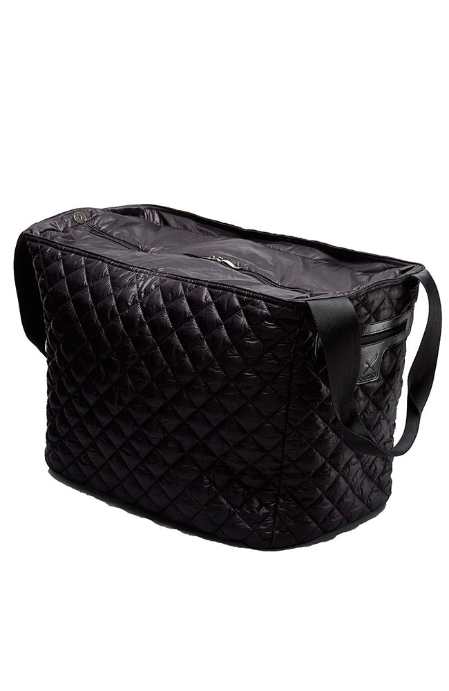 Capezio B180U Quilted Black Duffle Bag