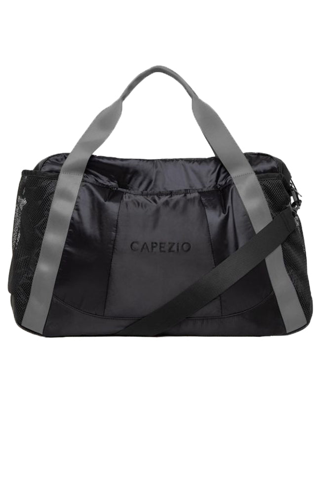 Capezio B230 Motivational Duffle Black Grey