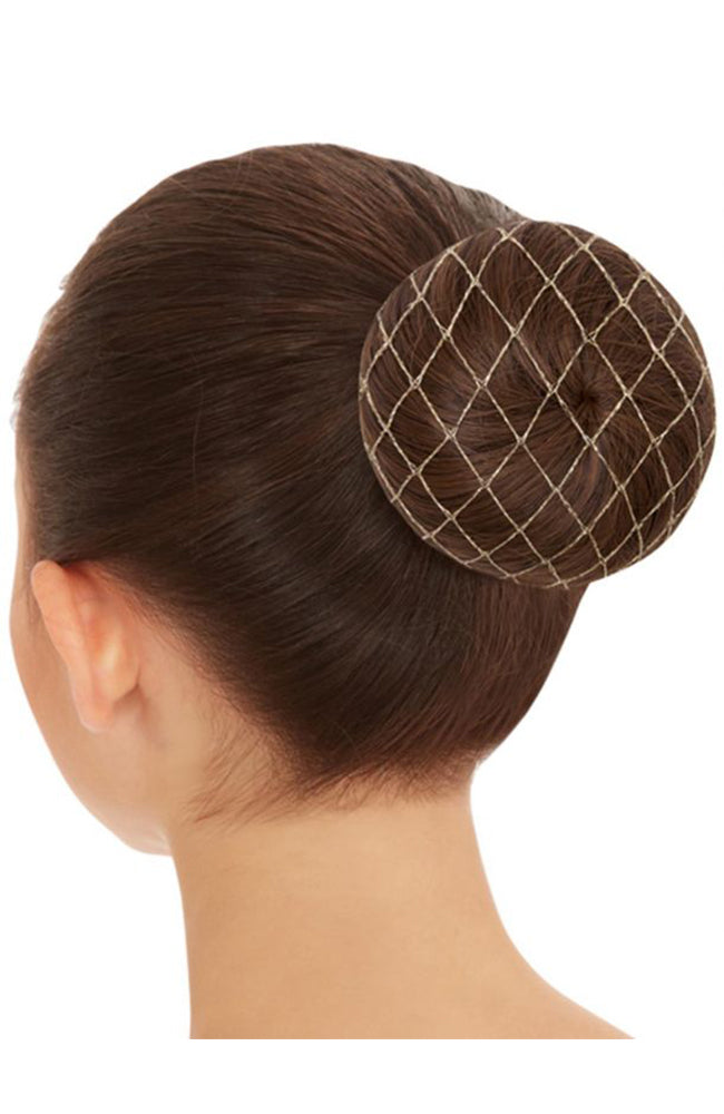 Capezio BH427 Metallic Hairnet Gold