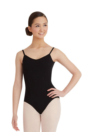 Capezio CC101 Adult Black Princess Seam Camisole Bodysuit