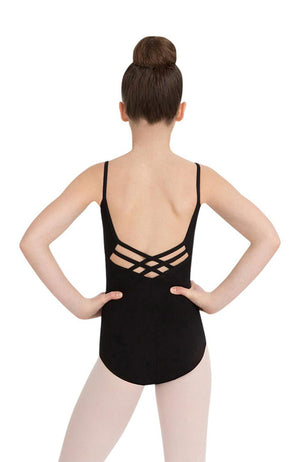 Capezio CC102C Child Criss Cross Back Camisole Bodysuit
