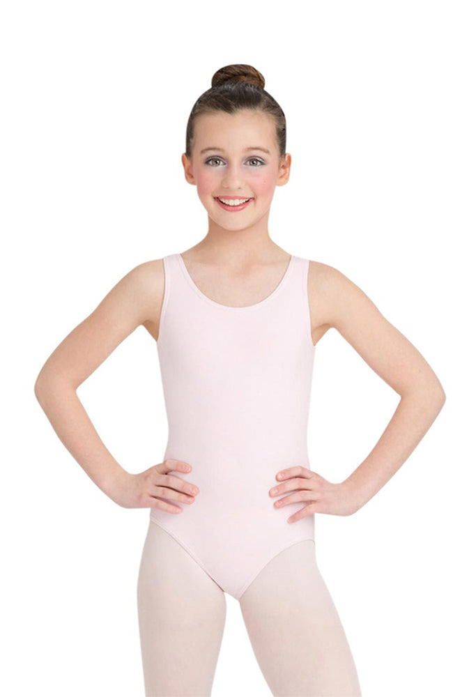 Capezio CC201C Child Light Pink Tank Bodysuit