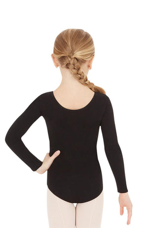 Capezio CC450C Child High Back Long Sleeve Bodysuit