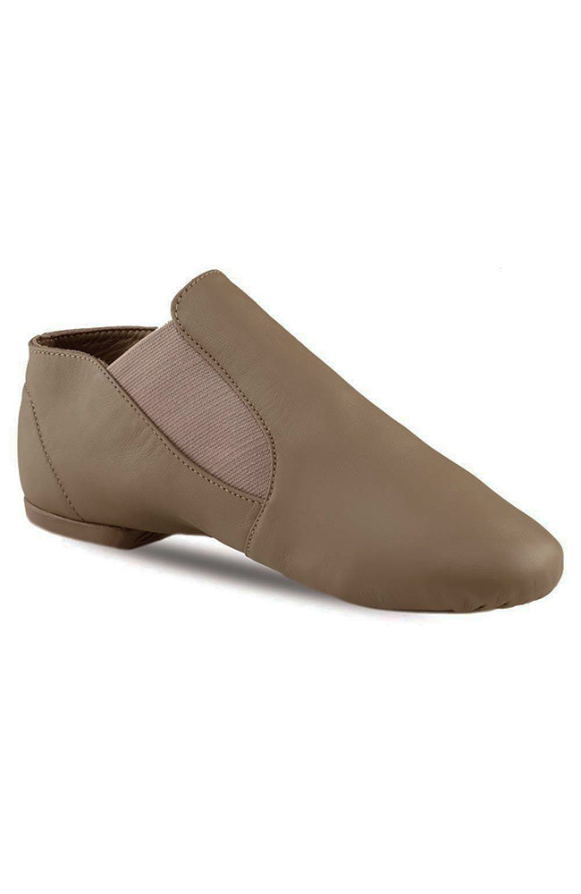 Capezio CG05C Child Tan Slip On Jazz Shoes