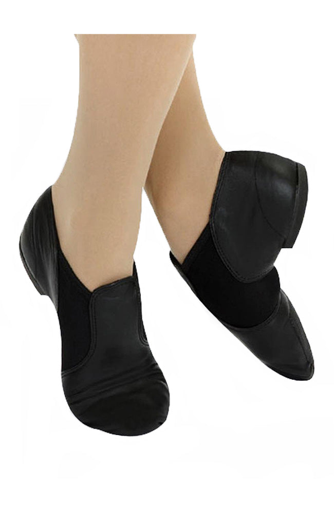 Adult Black Slip On Jazz