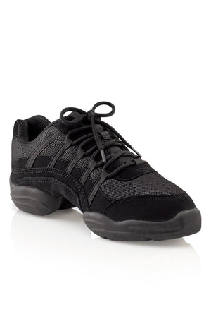 Capezio DS24 Black Adult Rock It Dance Sneaker