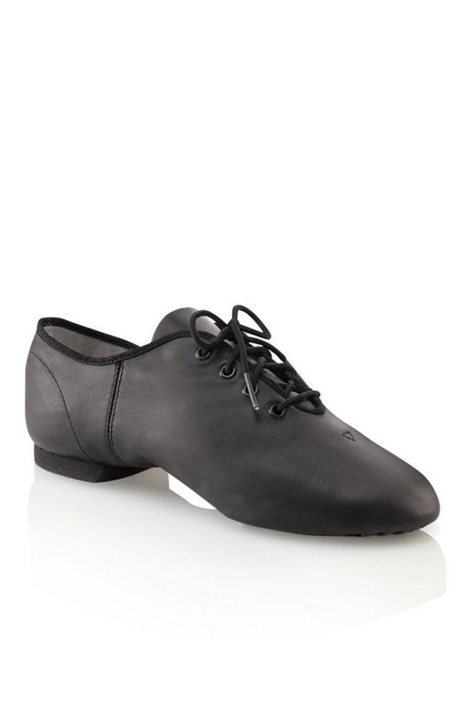 Capezio EJ1C Child Black Lace Up Jazz Shoes