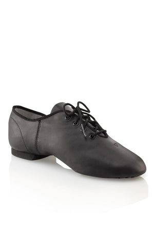 Capezio EJ1 Adult Black Lace Up Jazz Oxford